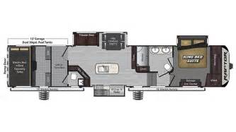 raptor rv floor plans 2017 keystone raptor 426ts model