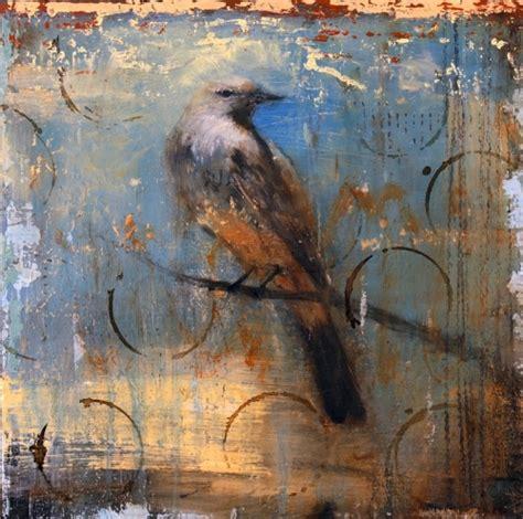 Mat Flint painting quot a small bird quot original by mattflint