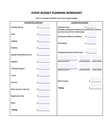 7 Budget Plan Template Word Excel Pdf Free Premium Templates How To Make A Budget Plan Template