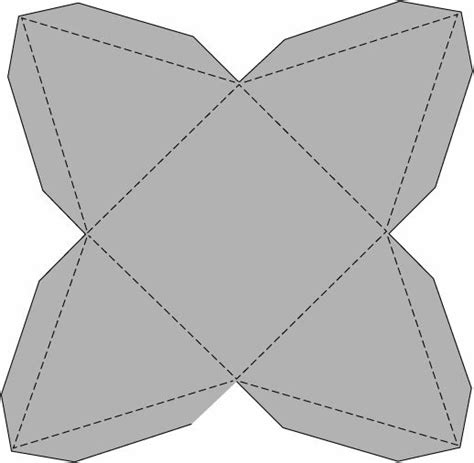 printable origami box templates origami box template origami free engine image for user