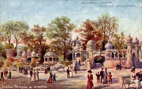 vue zoological gardens postcards
