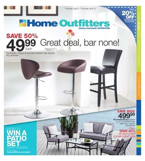 home outfitters flyer apr 5 to 12