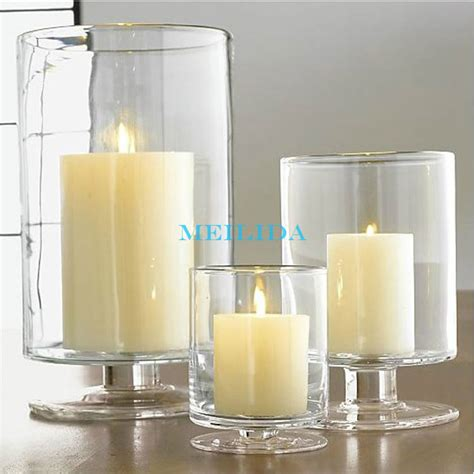 Large Vases Wholesale Clear Tall Bulk Glass Votive Candle Holder For Wedding