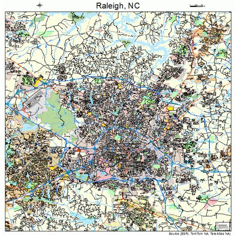 map of raleigh nc raleigh carolina map 3755000