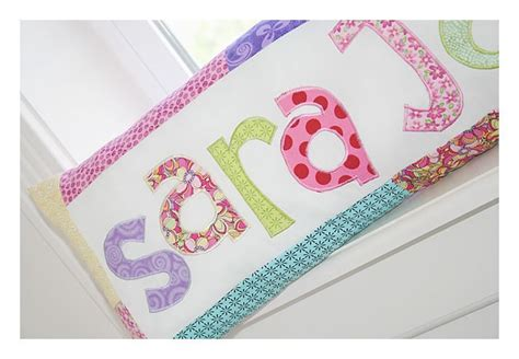 name pillow pattern free great pattern for name pillows diy with fabrics and