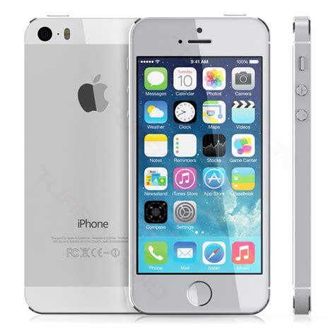 apple iphone  gb silver  lte smart phone sprint