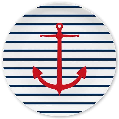 bilder maritim mein teller maritim gro 223 er teller mit name mein