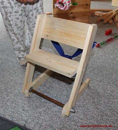 bauanleitung stuhl holz puppen hochstuhl