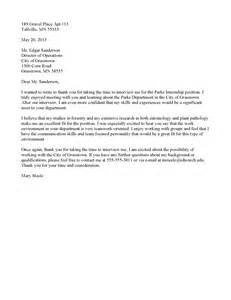 Business Letter Thank You For Interview Example Thanks For Job Interview 6