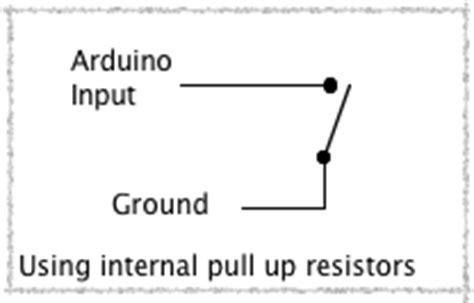 what is pull up resistor tutorial inputs