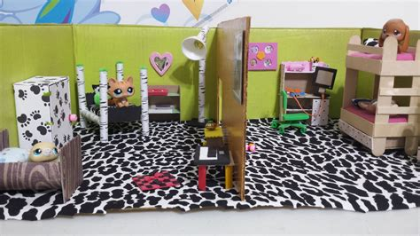 making doll house games how to make lps dollhouse bedrooms doll diy youtube