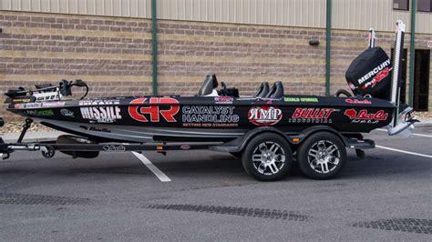 bass cat boat wrap gerald spohrer 2017 bassmaster elite series boat wrap