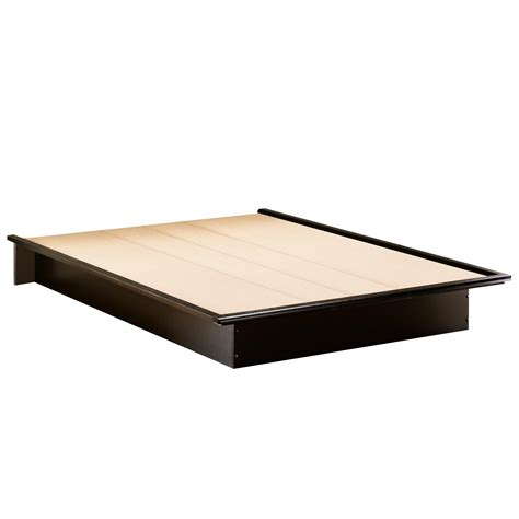 bed platform queen south shore 3070233 step one queen platform bed 60 quot in