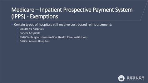 Medicare Inpatient Detox Washington State by Besler Ipps Overview