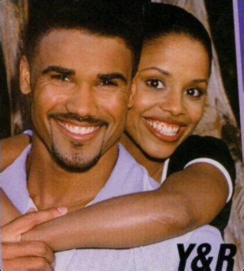 the young and the restless jamal malcolm winters callie played by the late michelle