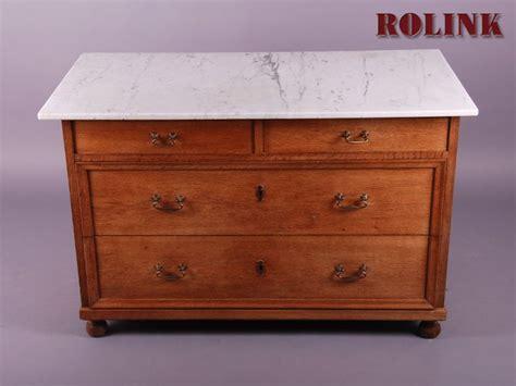 waschtisch kommode mit marmorplatte antik kommode waschtisch 4 schubladen eiche massiv mit
