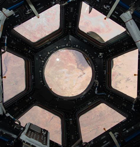 Cupola Space Station by Gerst Waving In Iss Cupola Tiny Business Insider