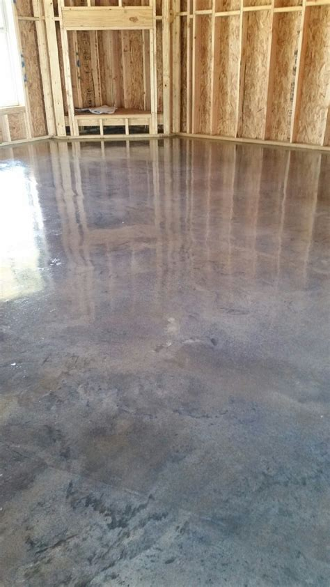 "Stained concrete ""Titanium gray""   Stained Concrete"