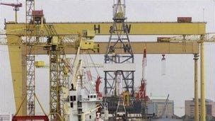 design and build contract ireland harland and wolff wins multi million windfarm contract