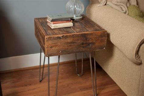 Nachttisch Originell by Custom Made Reclaimed Barn Wood Side Table By Reformed