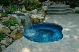 in ground spa modern pool new york by long island