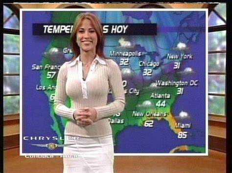 univision weather girls wardrobe malfunctions taking test learn a new language