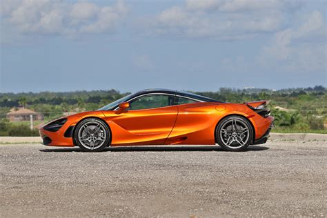 orange mclaren 720s mclaren 720s delivery first drive and photo drone gallery