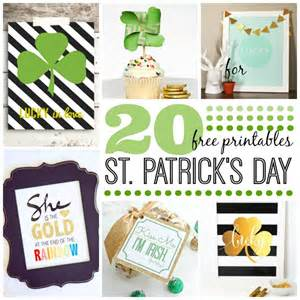 20 st s day printables