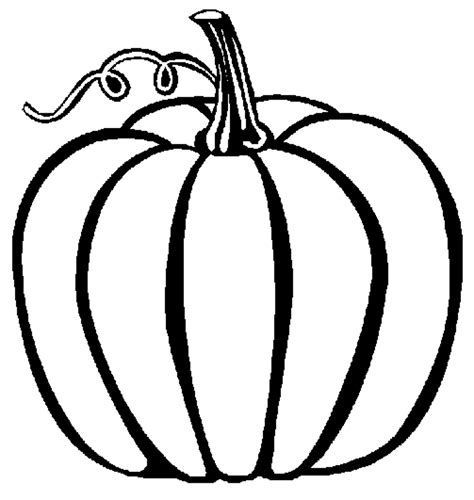 preschool easy fall pumpkin coloring pages printable