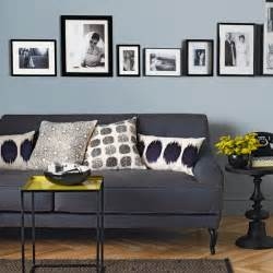 Grey And Blue Living Room Ideas by Pale Blue And Charcoal Grey Living Room Living Room