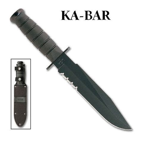Laser Kitchen Knives ka bar kabar usmc issue part serrated ka1271 usa fixed