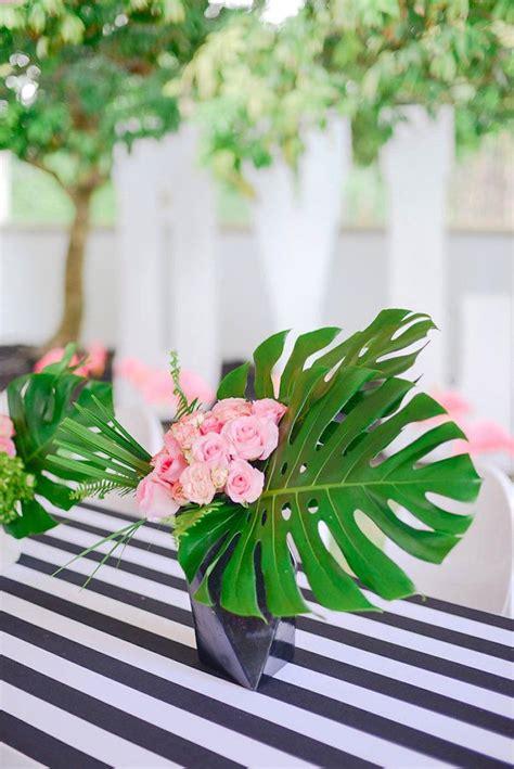 best 25 tropical centerpieces ideas on luau