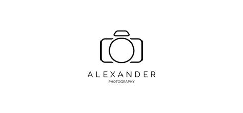 10 Simple But Stylish Photography Logo Templates That You Can Use For Free Designtaxi Com Photography Logo Templates