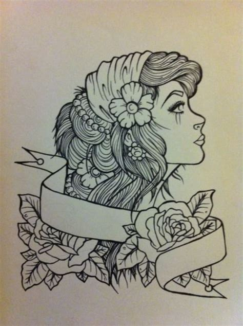 gypsy girl tattoo design school design cloaks the