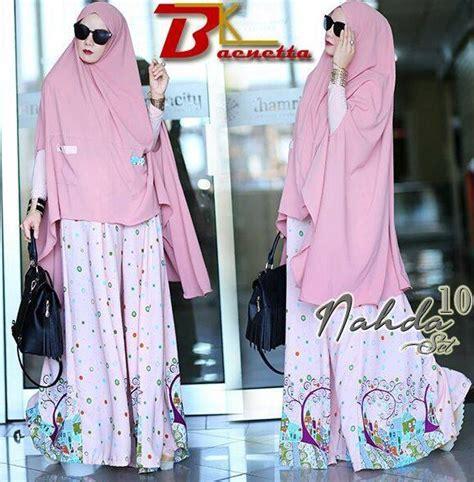 Pakaian Muslim Wanita Baju Muslim Gamis Tunik Warna Pastel 7 koleksi baju muslim modern trendy mulai dari tunic hingga