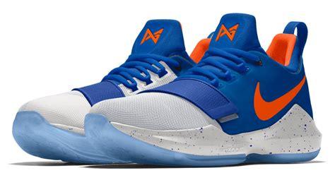 Sepatu Basket Nike Pg 1 Paul George Okc nikeid pg1 okc thunder colorways available sole collector