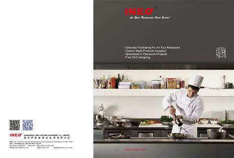 ineo commercial kitchen equipment catalogue by ineo
