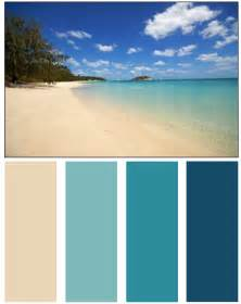 Colors Palette Ocean Color Palette Color Palettes Pinterest