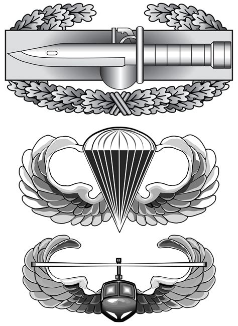 combat action badge clipart collection