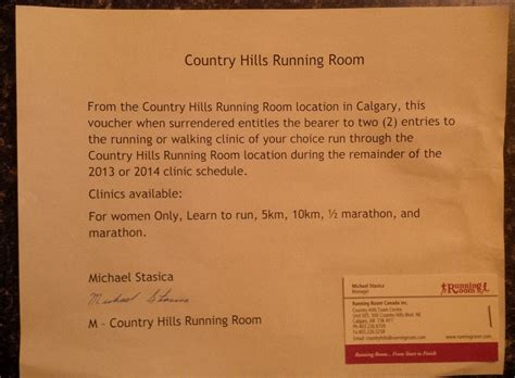 running room locations 2013 auction items 171 for healing