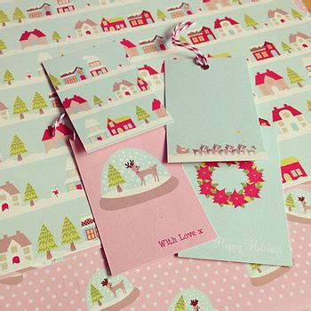 Tinseltown Gift Cards - luxury tinseltown christmas gift wrap set by sarah hurley designs notonthehighstreet com