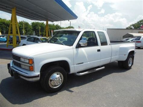 1993 chevrolet silverado 3500 1 ton dually pickup 454 auto overdrive 2wd gas classic chevrolet buy used 1993 chevrolet 3500 excab dually diesel florida in leesburg florida united states