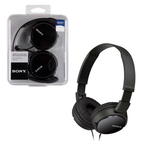 Headphone Mdr Zx110 new sony mdr zx110 stereo monitor headphones ebay