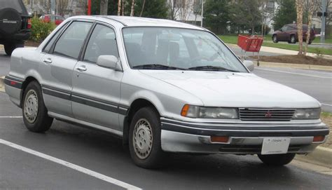 Mitsubishi Lancer Dangan 91 file 6th mitsubishi galant jpg wikimedia commons
