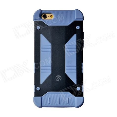 iphone 6 metal navy geekrover armor hybrid metal silicone for iphone 6