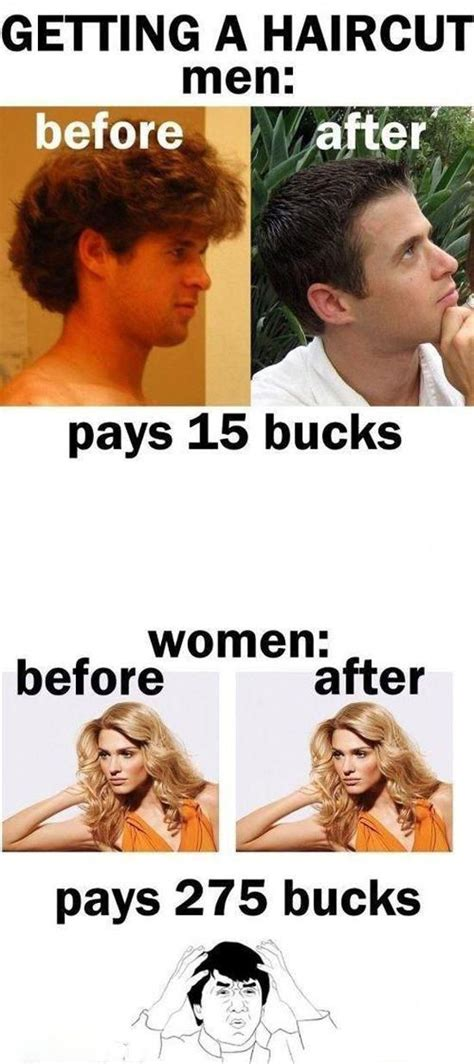 Men Memes - the difference between men and women in 22 memes