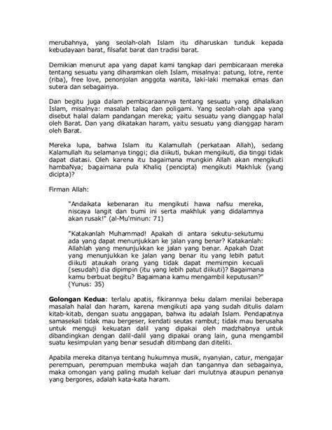 Islam Jalan Tengah Dr Yusuf Qardhawi halal dan haram dalam islam by dr yusuf qardhawi