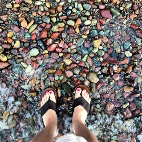 lake mcdonald montana colored rocks montana vacation why are the rocks in glacier