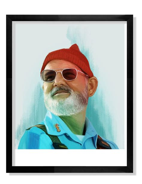 bill murray print the wes anderson gift guide spoke art