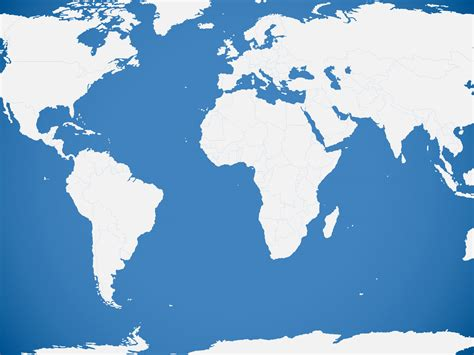 Blue World Map Backgrounds Blue Business Templates Free Ppt Grounds And Powerpoint World Map Powerpoint Background